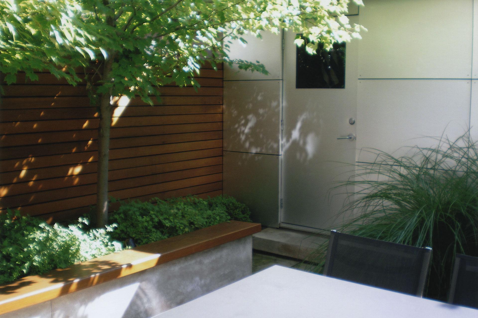 Modern Courtyard Kim Price Landscape Design